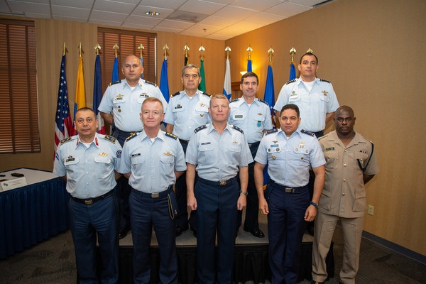Central American and Caribbean Air Chiefs Visit Twelfth Air Force (Air Forces Southern)