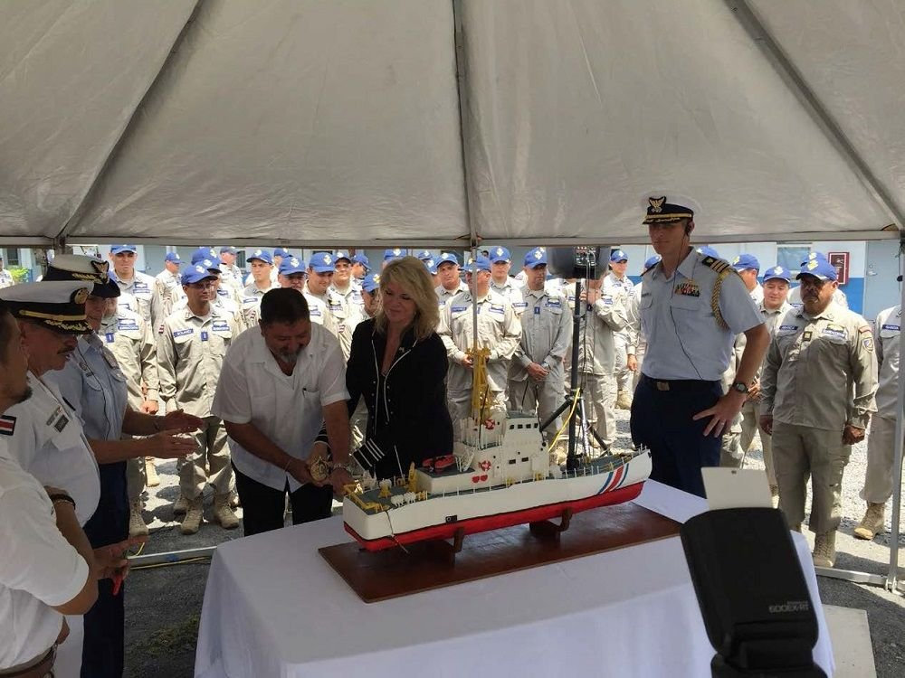 Coast Guard Transfers Two Former Cutters To Costa Rica