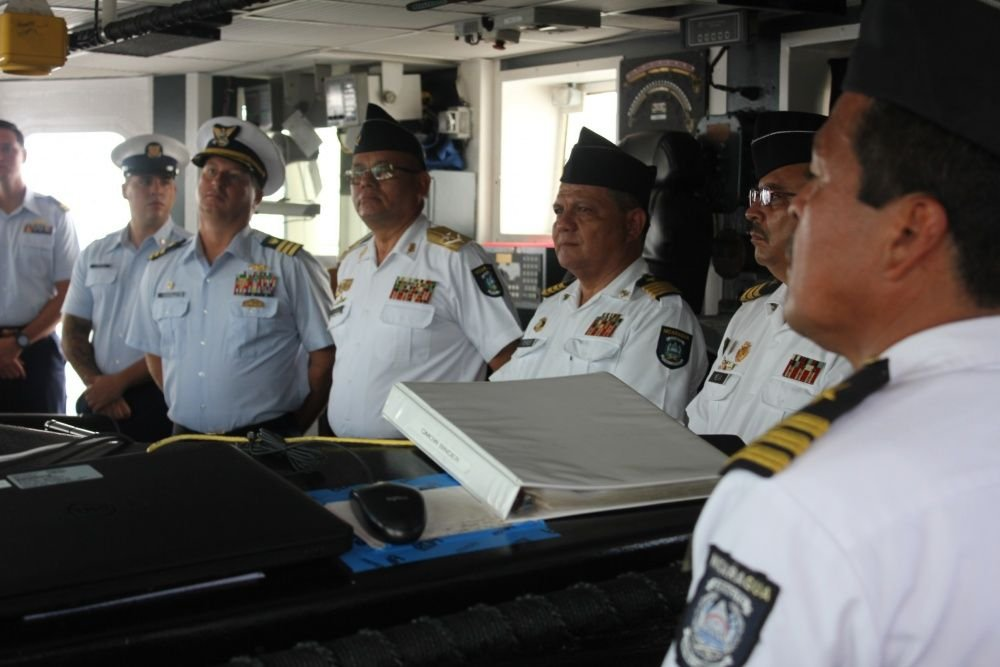 U.S. Coast Guard Cutter Seizes More Than 3 Tons of Cocaine, Rescues Sea Turtle, Builds Partnerships