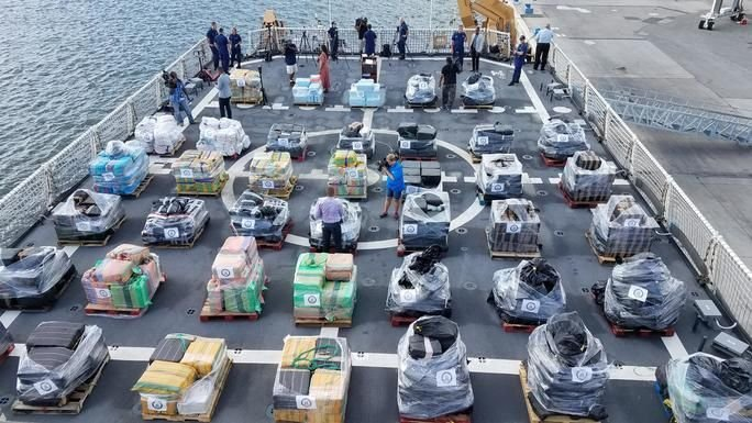 Coast Guard Offloads More Than 18 Tons of Cocaine