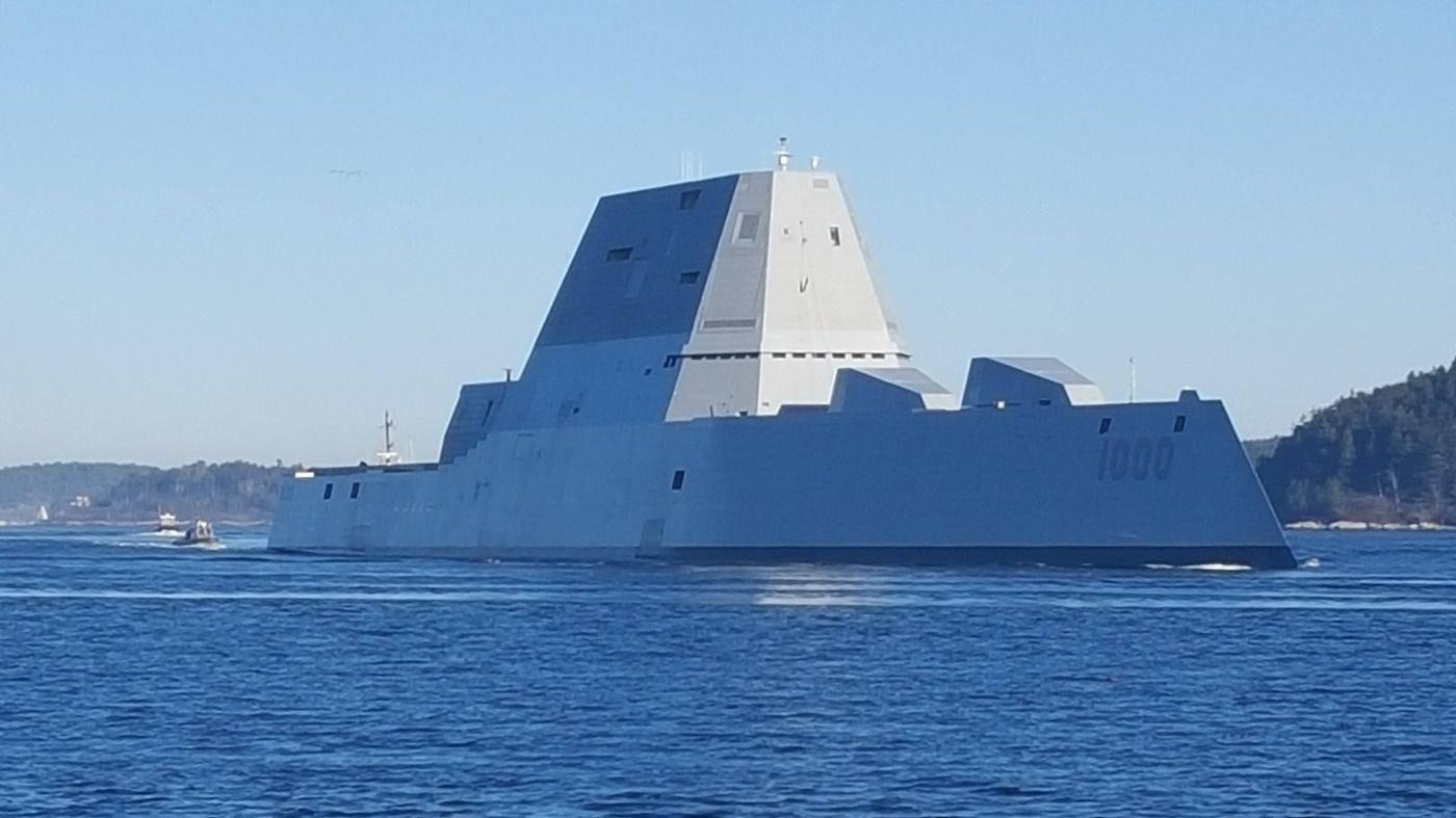 U.S. Navy Destroyer USS Zumwalt Visits Cartagena