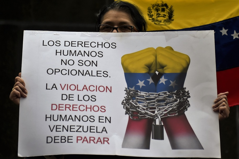 Amnesty International Accuses Maduro of Crimes against Humanity