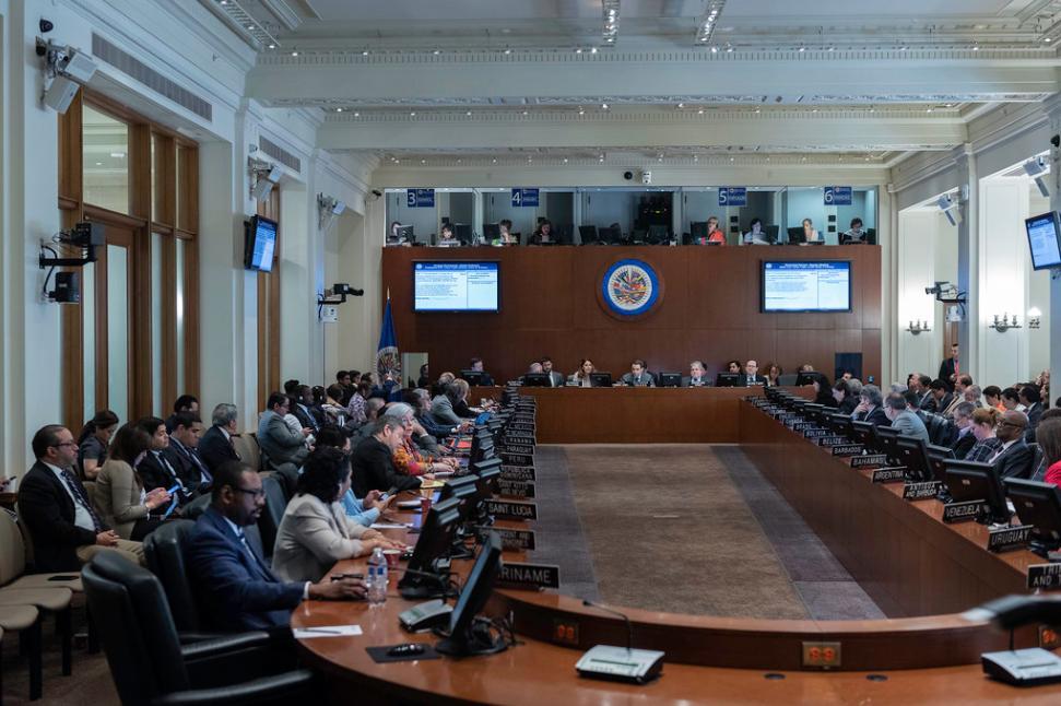 OAS Condemns Zambrano's Arrest