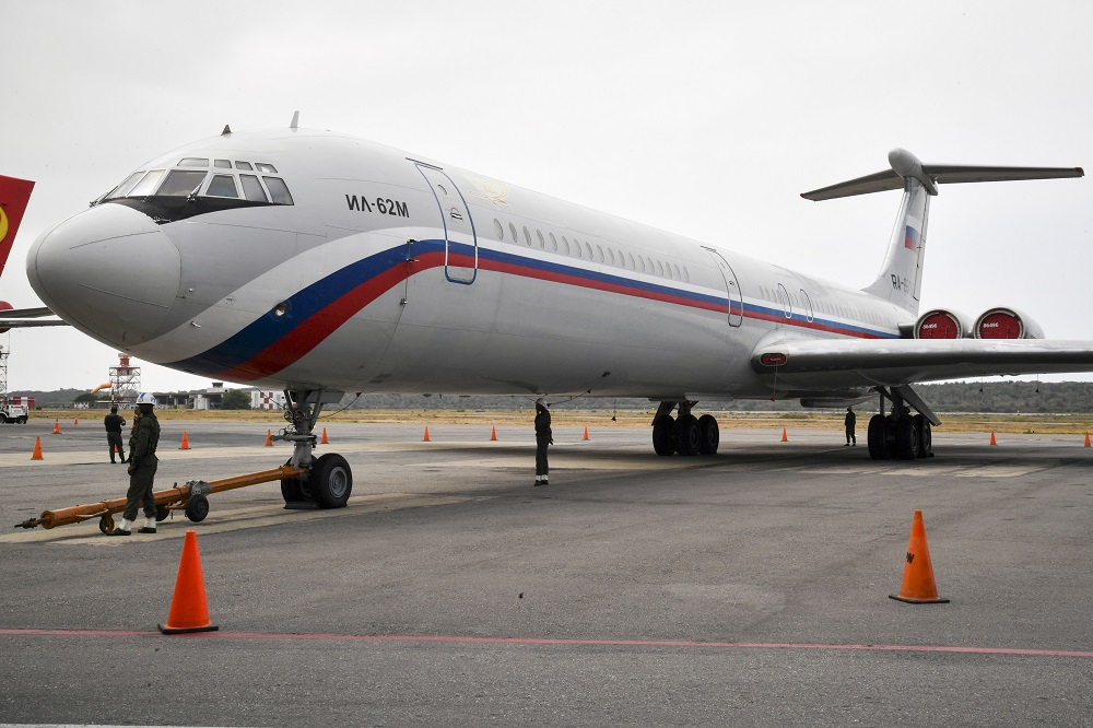 More Russian Aircraft Arrive in Venezuela