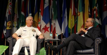 SOUTHCOM Commander US Navy Admiral Faller Optimistic about Venezuela Crisis