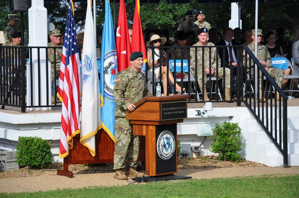 WHINSEC Welcomes Col. Robert F. Alvaro, Sixth Commandant