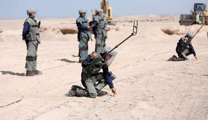Chile, Free from Anti-personnel Mines by 2020