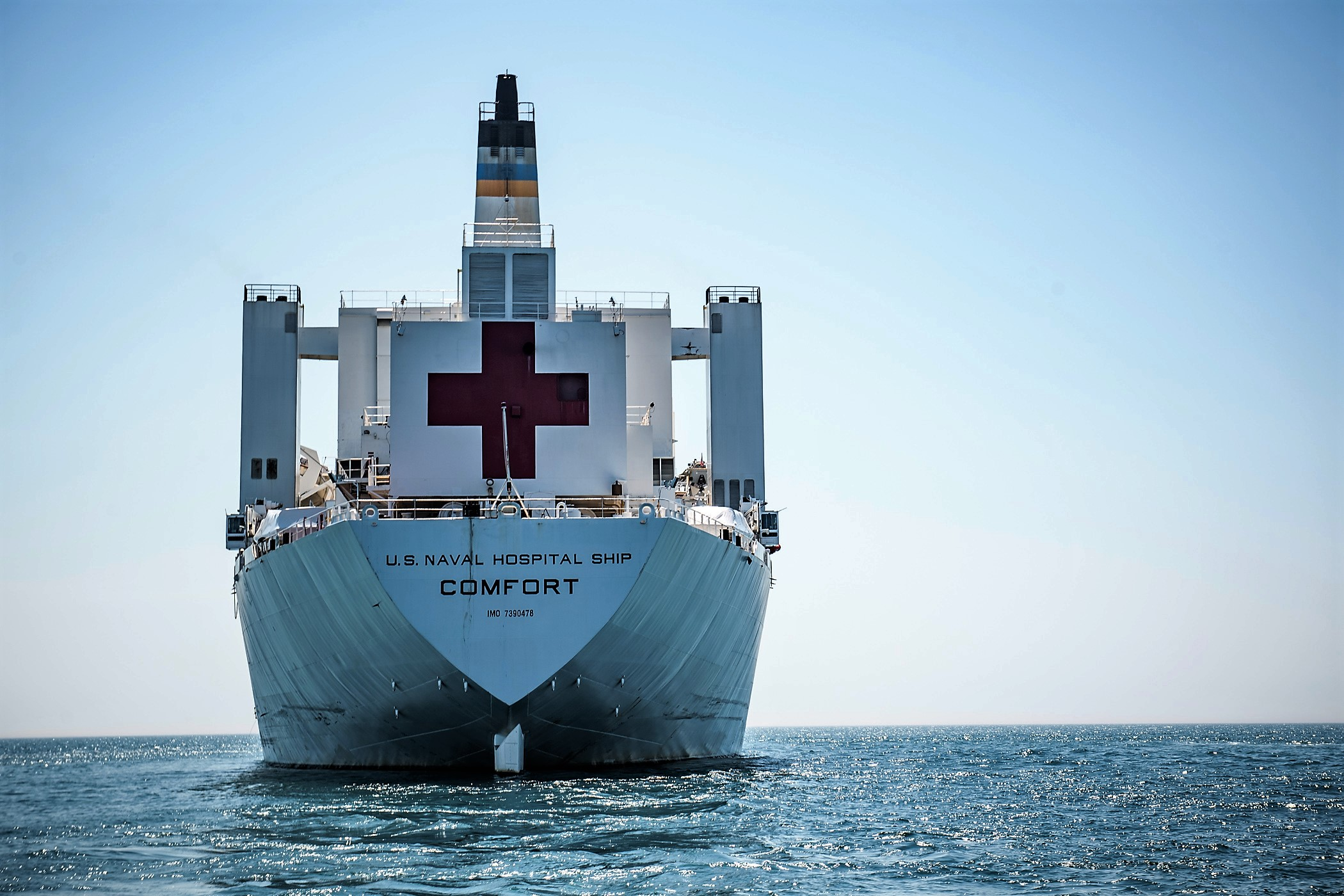 USNS Comfort Will be in 11 Countries to Help Mitigate the Impact of the Venezuelan Crisis on the Region