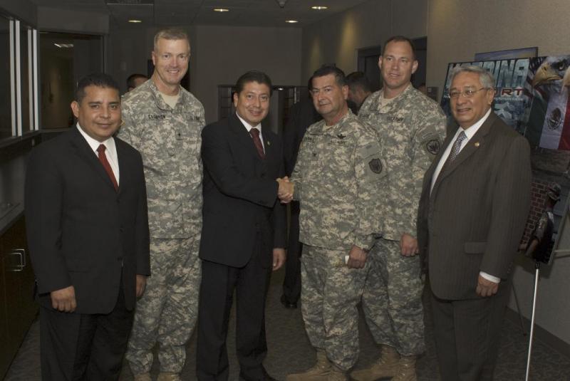USNORTHCOM Hosts Mexico Senior Legislative Leaders