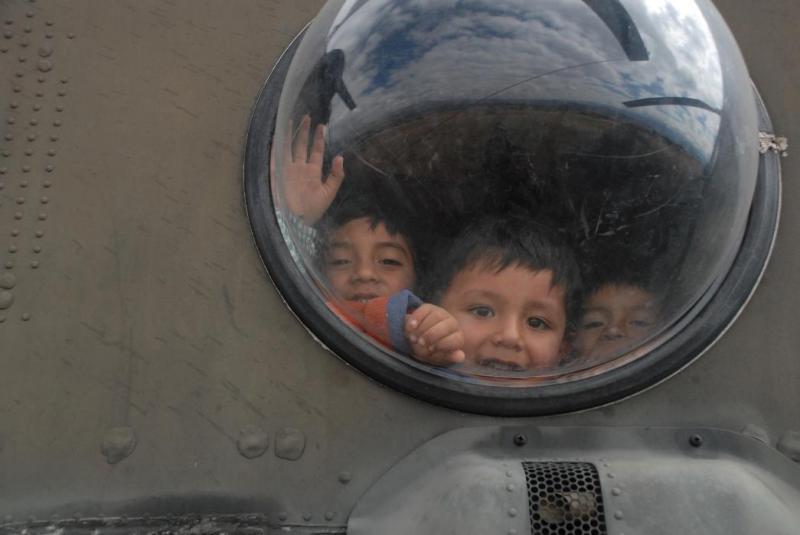 U.S. Army aviators support humanitarian mission in Ayacucho, Peru