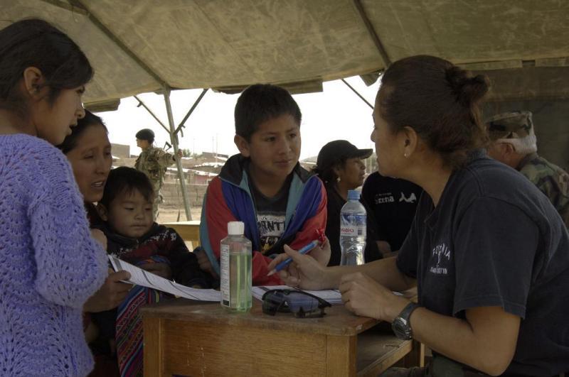 New Horizons brings medical care to 12,414 Peruvians