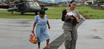 U.S. Military Delivers Aid, Evacuates Flood Victims in Costa Rica, Panama
