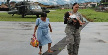 U.S. Military Delivers Aid, Evacuates Flood Victims in Costa Rica, Panama