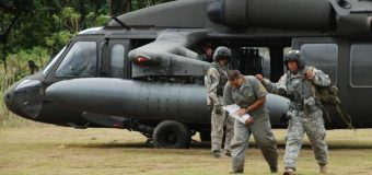 U.S. Military Helicopters Evacuate Earthquake Victims in Costa Rica