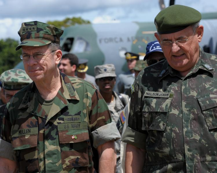 Mullen Notes Importance of U.S. Relationship With Brazil