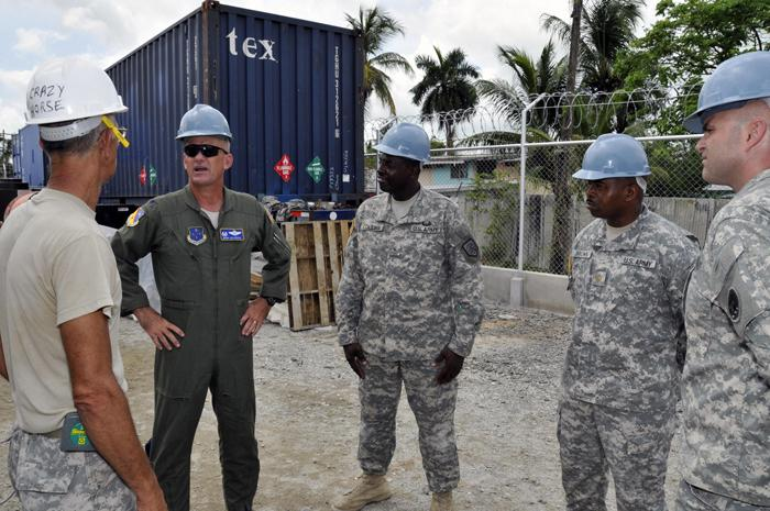 Theater Commander Visits Service Members, Sites Of New Horizons Guyana 2009