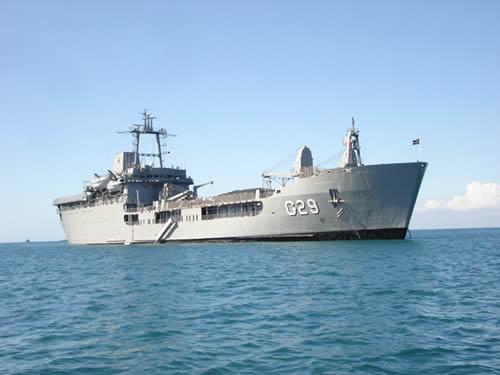 Brazilian Navy Ship Leaves for Haiti on February 1st