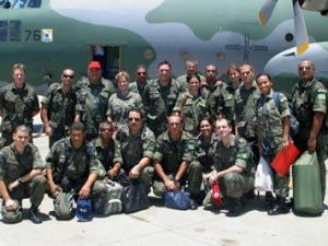 Twenty More Military Health Personnel from the Brazilian Air Force Head to Haiti