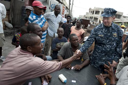 Top US Military Official Visits Quake-Hit Haiti