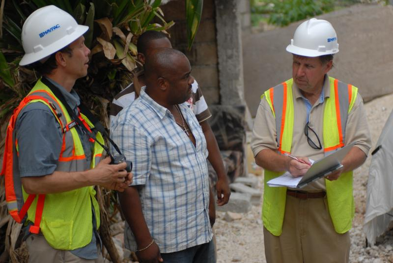 Military Engineers Train Haitians To Assess Building Damage