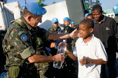 From Security to Humanitarian Assistance