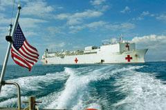 USNS Comfort's Medical Teams Help Hundreds