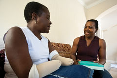 Haitians Help Their Own