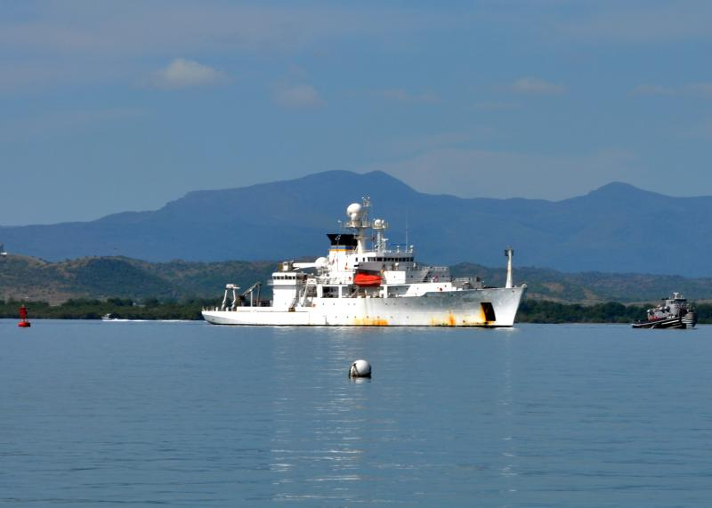 USNS Henson concludes Oceanographic-Southern Partnership Station