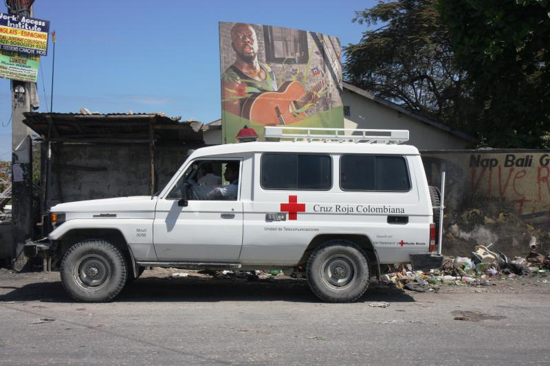 The Red Cross – An International Mission for Haiti