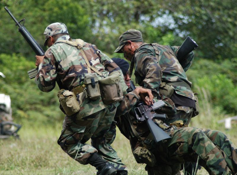 Belize Defense Force Provides Crash Course In Jungle Warfare To U.S. Marines