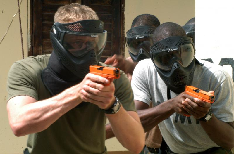 FBI Provides Weapons Training During Tradewinds 2010