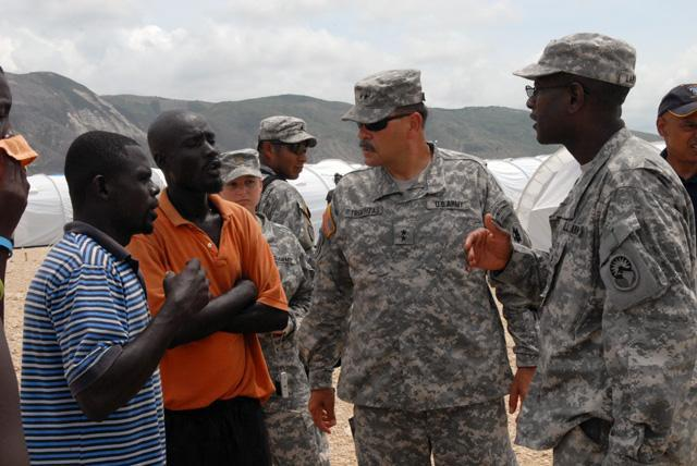 Trombitas Takes Command of JTF-Haiti