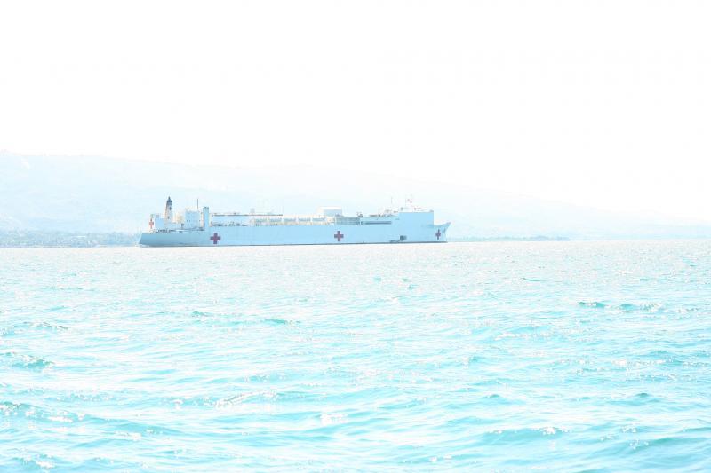 Hospital Ship USNS Comfort – Relief Mission to Haiti –