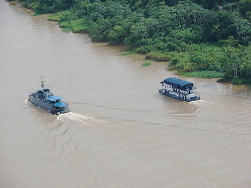 Brazilian And Peruvian Navies Participate In Hospital Assistance Operation Along Javari River