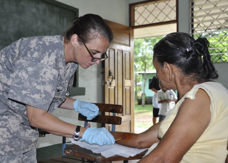 U.S. Troops Provide Medical Care to 1,100 Nicaraguans