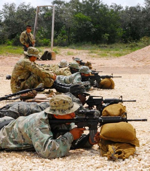 U.S. Army's Elite Train Belizean Forces In Effort To Build Partnership