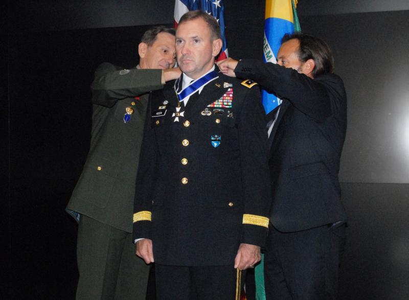 Brazil Honors Lt. Gen. Keen For Haiti Efforts
