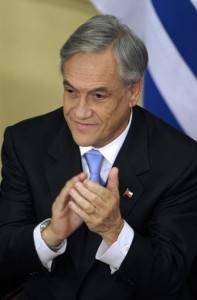 Chile's Piñera Sees Creation of 250,000 Jobs in 2010