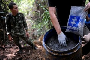 Explosives Found In Colombian FARC Camp On Border With Ecuador