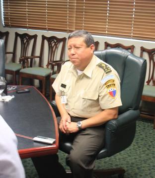 Interview with Guatemalan Defense Minister Maj. Gen. Abraham Valenzuela            González