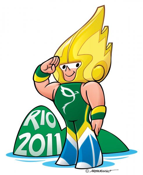 Arion Is Chosen Name for Mascot of Rio 2011 Military World Games
