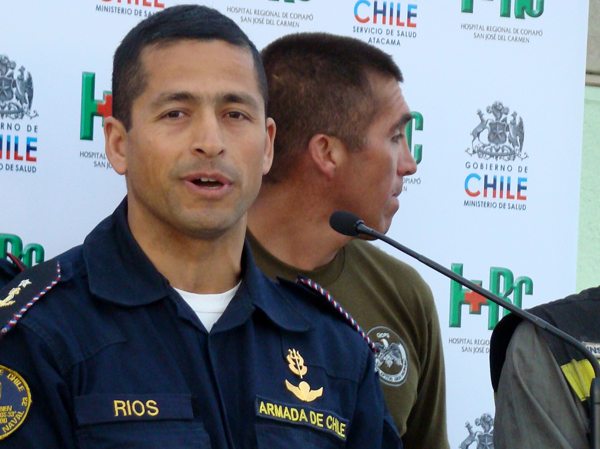 Miners' rescue a test of faith, commitment for Sgt. Roberto Ríos