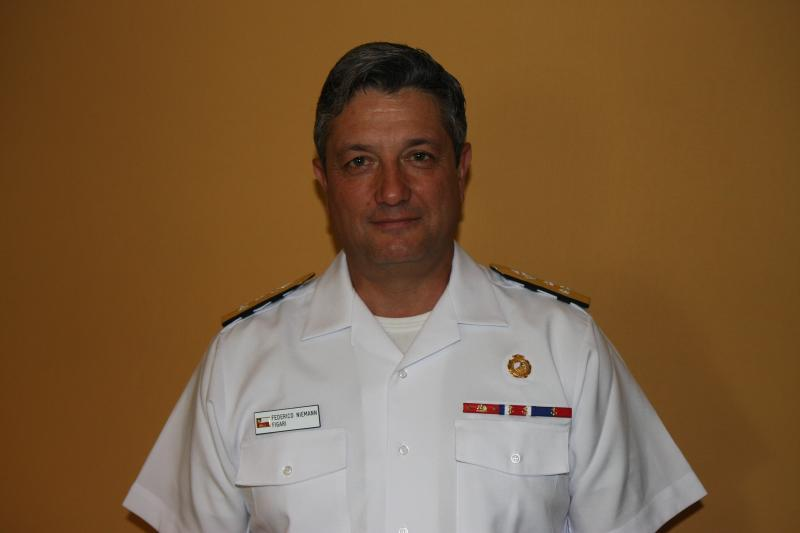 Interview with the Chief of Gen. Staff of the Chilean Navy, Vice Adm. Federico Niemann Figari