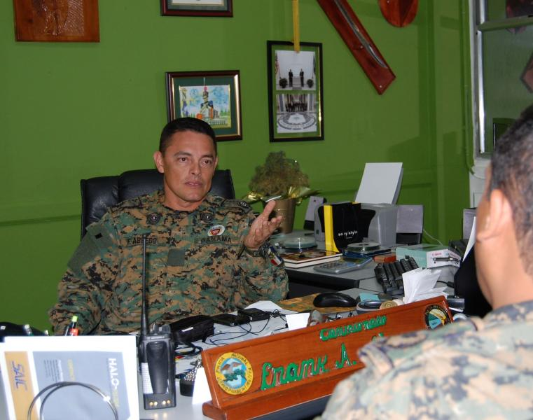 Diálogo Magazine: Interview with Frank Abrego, director-general of the NationalBorder Service (SENAFRONT)