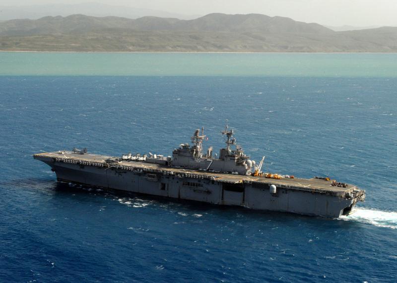 USS IWO JIMA Deploys to Haiti as Tropical Storm Approaches