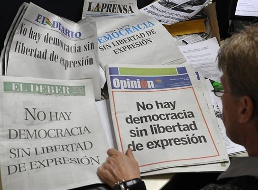 Latin American Media Slam Government, Drug Gang Controls