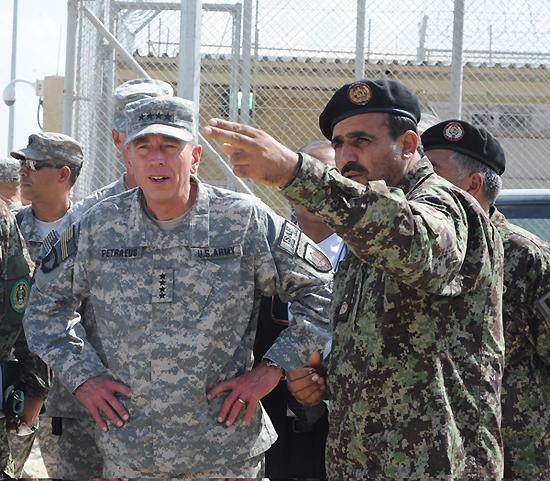 Petraeus Has Calendar for Returning Control of Provinces to Afghans