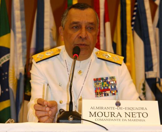 Interview with the Commandant-General of the Brazilian Navy, Adm. Moura Neto