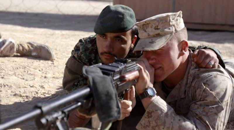 Afghan Soldiers Learn to Operate Independently