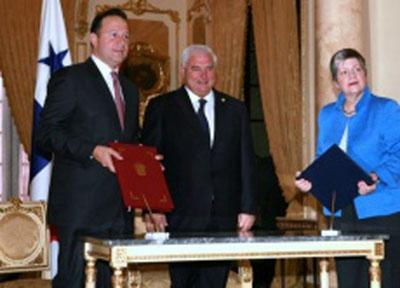 Panamá, U.S. Sign Air Security Agreement
